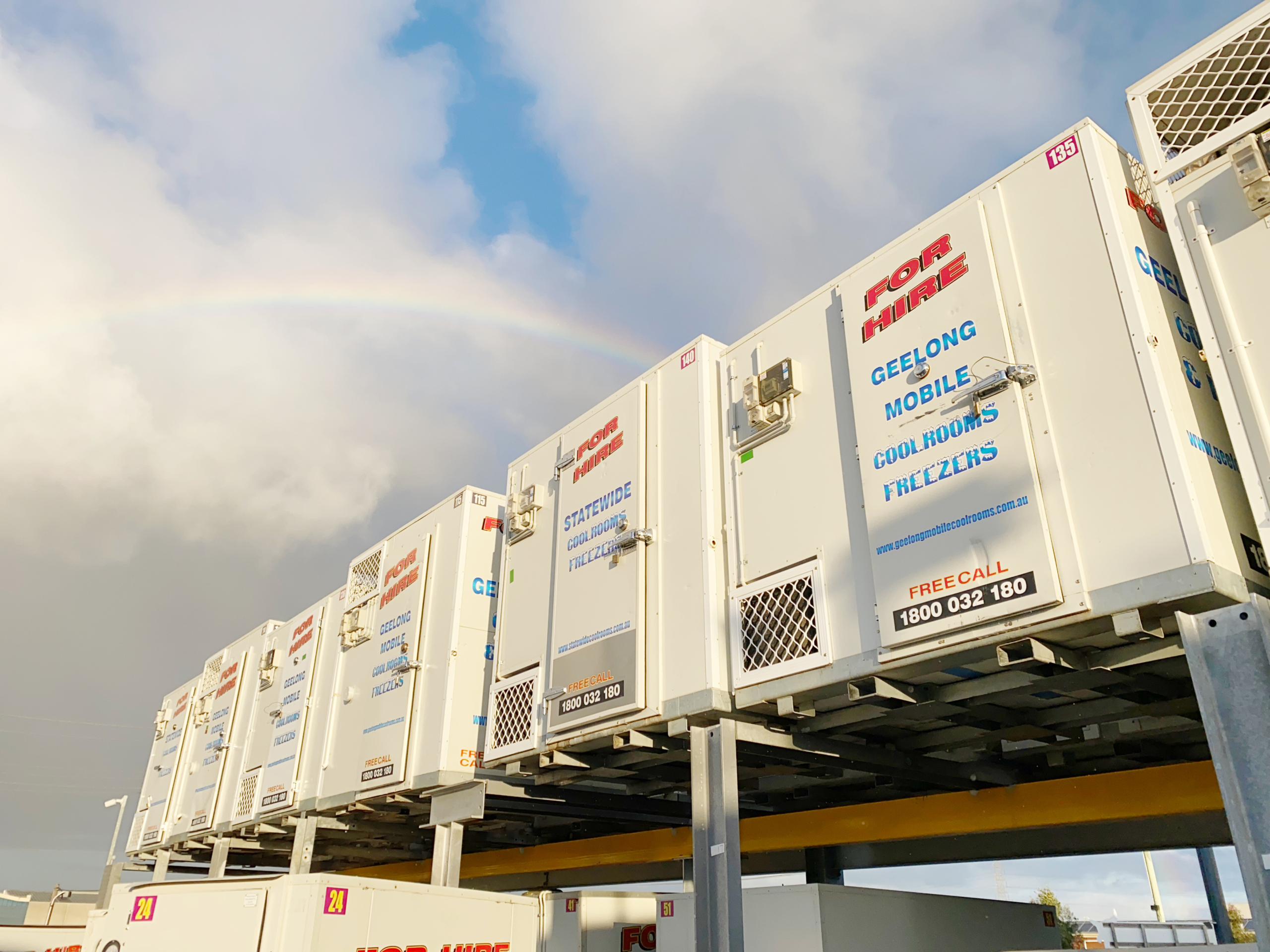 Australia's largest portable and mobile coolroom and freezer hire provider